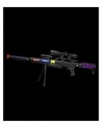LED Light & Sound Sniper Rifle