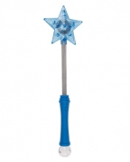 Blauer LED Cosplay Stern Zauberstab
