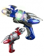 Light & Sound Space Flash Blaster Phazer