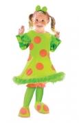 Lolli der Clown Mädchenkostüm