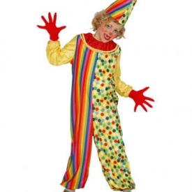 Kunterbunter Clown Kinderkostüm