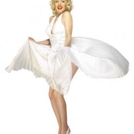 Lizensiertes Marilyn Monroe Faltenkleid