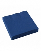 Marineblaue Papierservietten 20 St.