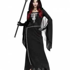 Mitternachts Reaper Frauenkostüm