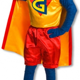 Gonzo Kostüm aus der Muppet Show