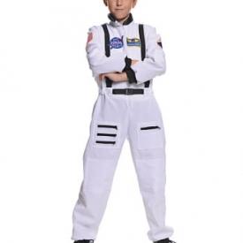 NASA Astronauten Kinderkostüm weiß