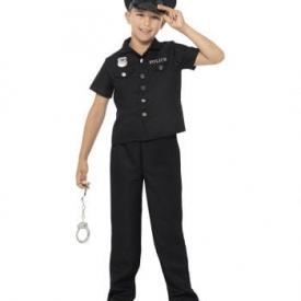 Kinderkostüm New York Cop