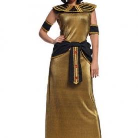 Cleopatra Kostüm aus Lurex