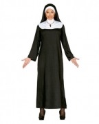 2-tlg. Nonnen Kostüm