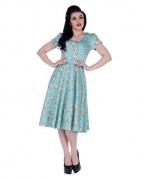 Petticoat Kleid mit Blumenprint