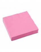 Rosa Papierservietten 20 St.