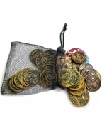 30 Piraten Münzen