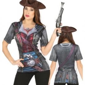 Piraten Lady T-Shirt