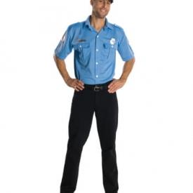 US Officer Polizeikostüm