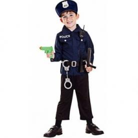 Polizist Kostüm Set für Kinder