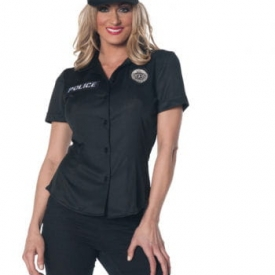 Polizistin Uniform Hemd