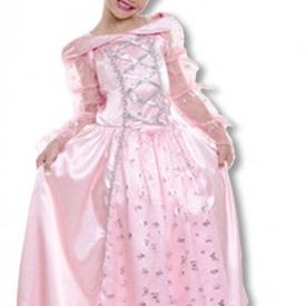 Prinzessin Kinderkostüm mit Diadem M