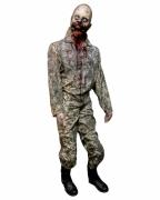 Zombie Soldat Standfigur Captain Jack