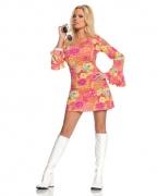 60s Hippie Minikleid Kostüm