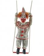 Schaukelnder Halloween Clown Animatronic