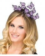 Lila Schmetterlings Haarreifen