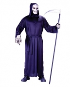 Schwarze Horror Robe