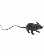 Schwarze Kunststoff Ratte