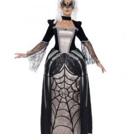 Schwarze Spinnen Prinzessin Kostüm