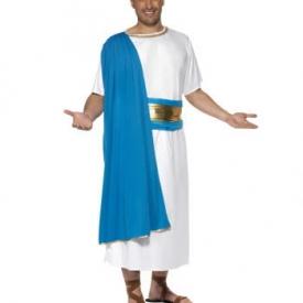 Senator Kostüm blau/weiß