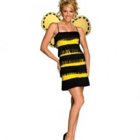 Bienchen Fransen Kostümkleid