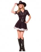 Cowgirl Kostüm mit Cowboy Hut