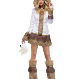 Erotische Eskimo Lady