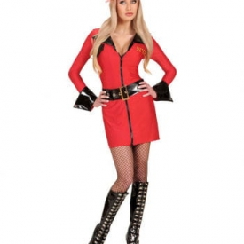 Sexy Firefighter Girl Kostüm 42/44
