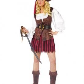 Sexy Piraten Lady Kostüm SM