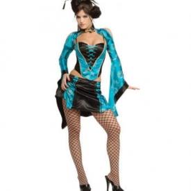 Heiße Geisha Kostüm