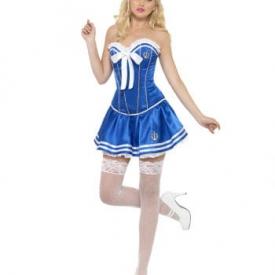 Matrosinnen Kostüm