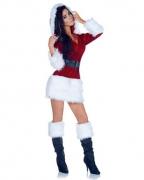 Sexy Santa Claus Frau Kostüm