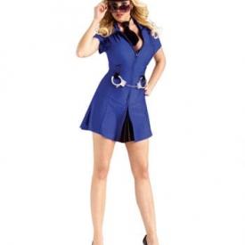 Sexy Police Girl Kostüm