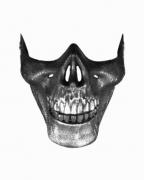 Totenkenschädel Hai Kiefer Maske