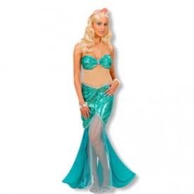 Sirena Meerjungfrau Kostüm
