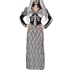 Skelettbraut Kostümkleid