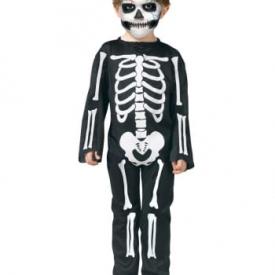 Skelett Kleinkinderkostüm