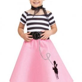 Soda Shop Mädchen Kleinkinderkostüm
