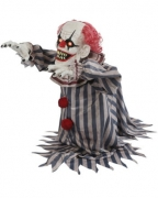 Animatronic attackierender Horror-Clown