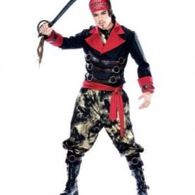 Apocalyptischer Pirat Kostüm S