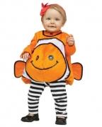 Nemo Goldfisch Babykostüm Orange