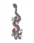 Tattoo mit Drachenmotiv