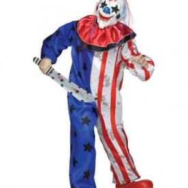 Amerika Clown Kinderkostüm