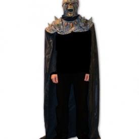 Totschädel Legionär Maske mit Umhang