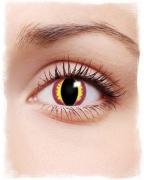 Drachenauge Motiv-Kontaktlinsen violett
